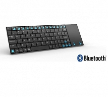 <p>80-Key Ultraslim Mini Bluetooth Keyboard with Multi-Finger Function Touchpad</p>