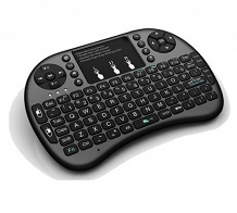 <p>Zoweetek 92-Key Mini Bluetooth Multimedia Keyboard with Flip Touchpad ƒ</p>