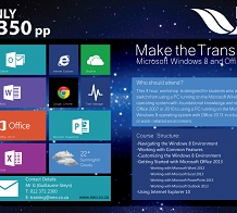 <p>Windows 8 &amp; MS Office 2013</p>