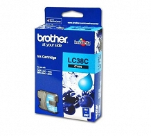 <p>Brother Cyan Inkjet Cartridge LC38C</p>