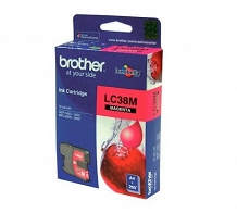 <p>Brother Magenta Inkjet Cartridge LC38M</p>