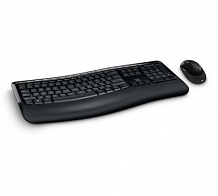 <p>Microsoft Comfort Desktop 5000 Keyboard and Mouse Desktop Set</p>